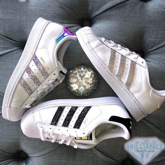 2237989d425 adidas Shoes | Swarovski Superstar For Womengirls | Poshmark